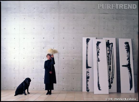 Paris cr atrice de mode et peintre japonaise hiroko for Peinture a la mode