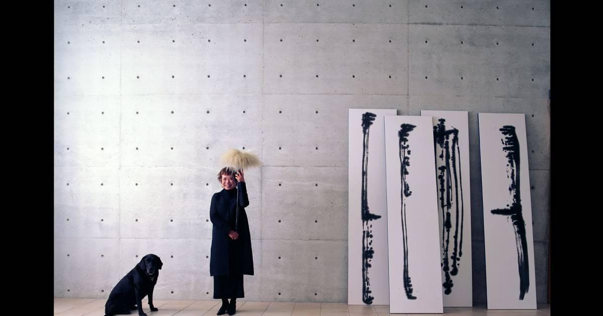 Paris cr atrice de mode et peintre japonaise hiroko koshino expose paris e - Mode japonaise paris ...