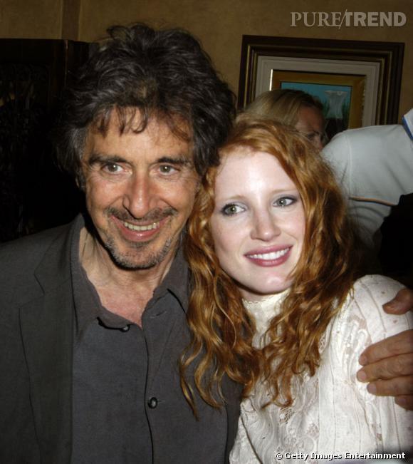 Jessica Chastain et son pote Al Pacino.