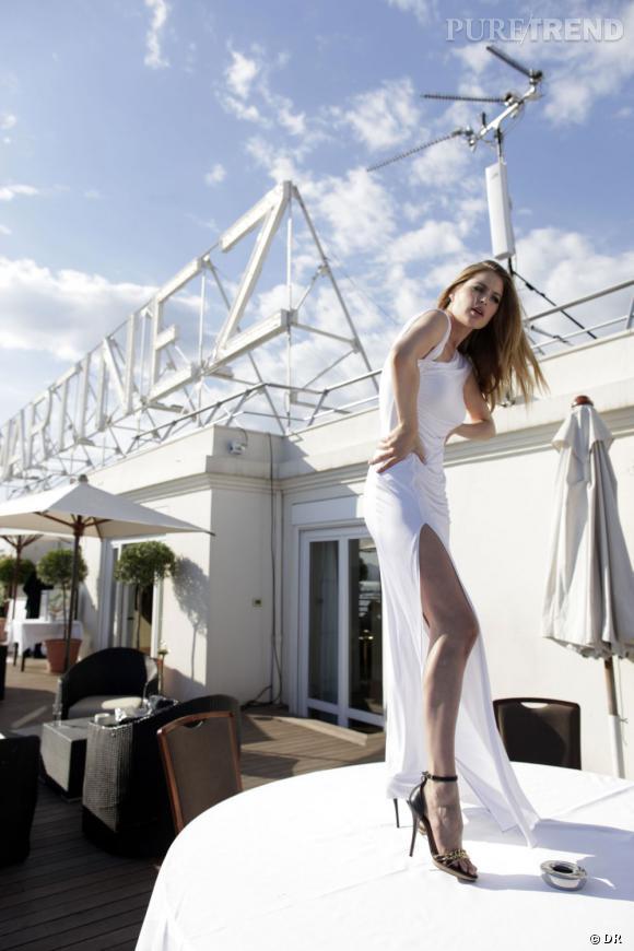 Le festival de Cannes de Doutzen Kroes.