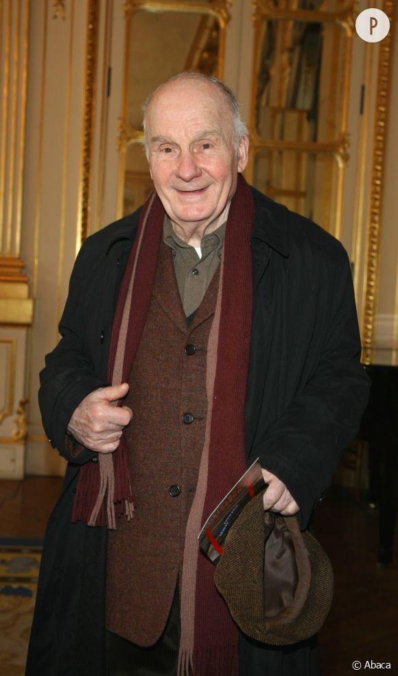 """Michel Bouquel a interprété François Mitterrand dans """"Le Promeneur du Champs de Mars""""."""
