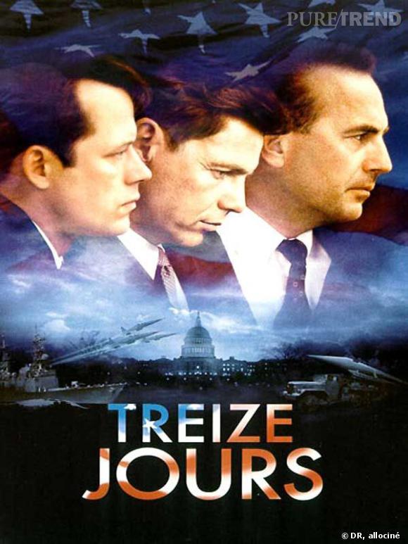 """""""Treize Jours"""", avec John F. Kennedy en héro principal du film (au centre)."""