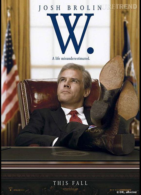 """W."" et son héros, George W. Bush"