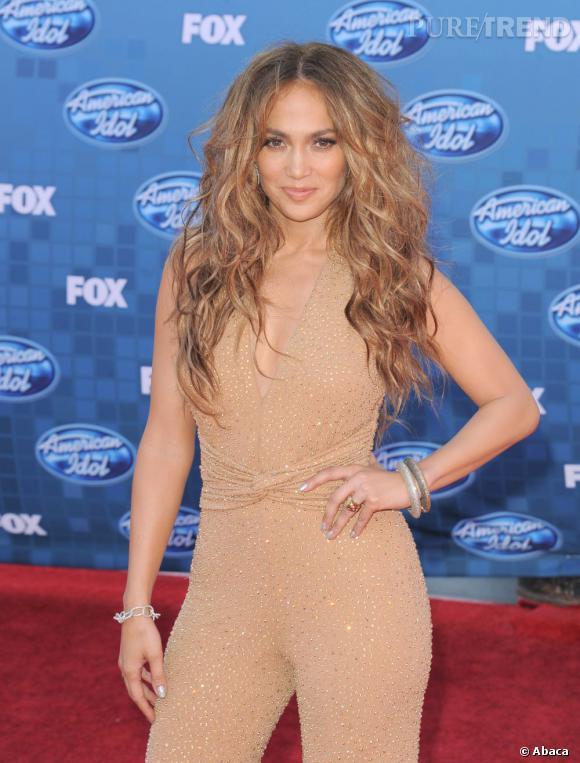 """Jennifer Lopez, conviée sur le plateau de """"American Idol""""."""