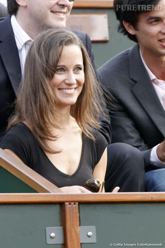 Pippa Middleton à Roland Garros.