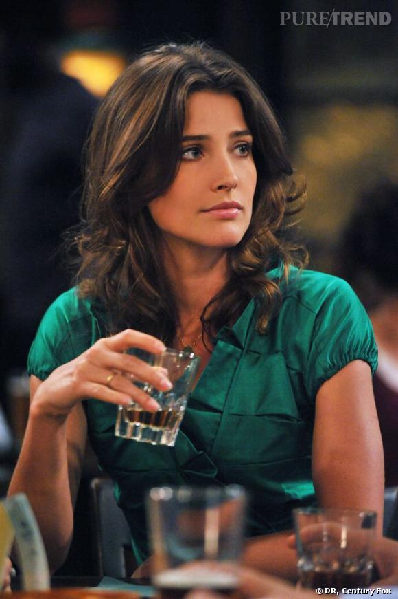 Cobie Smulders, alias Robin. Avant c'était...