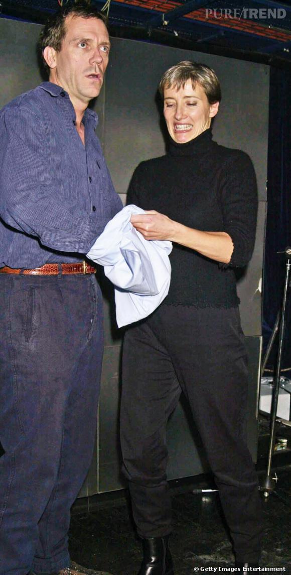 Hugh Laurie et Emma Thompson. Ou plutôt Docteur House et Nanny McPhee... Qui dit mieux ?