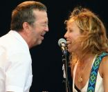 Eric Clapton et Sheryl Crow, un couple country.