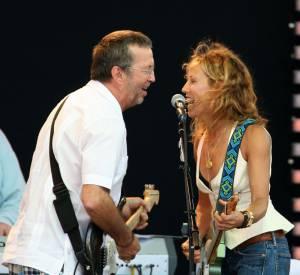 Eric Clapton et Sheryl Crow, un couple country.