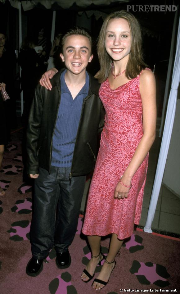 Amanda Bynes et Frankie Muniz : quand on aime on ne compte pas... Et on ne mesure pas non plus.