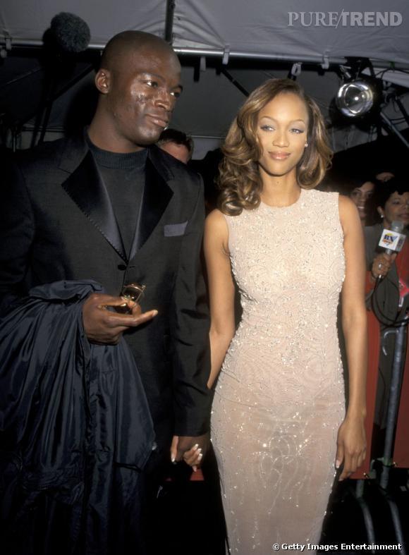 Avant d'être avec Heidi Klum, Seal est sorti avec Tyra Banks. Dans le genre top, on ne s'embête pas.