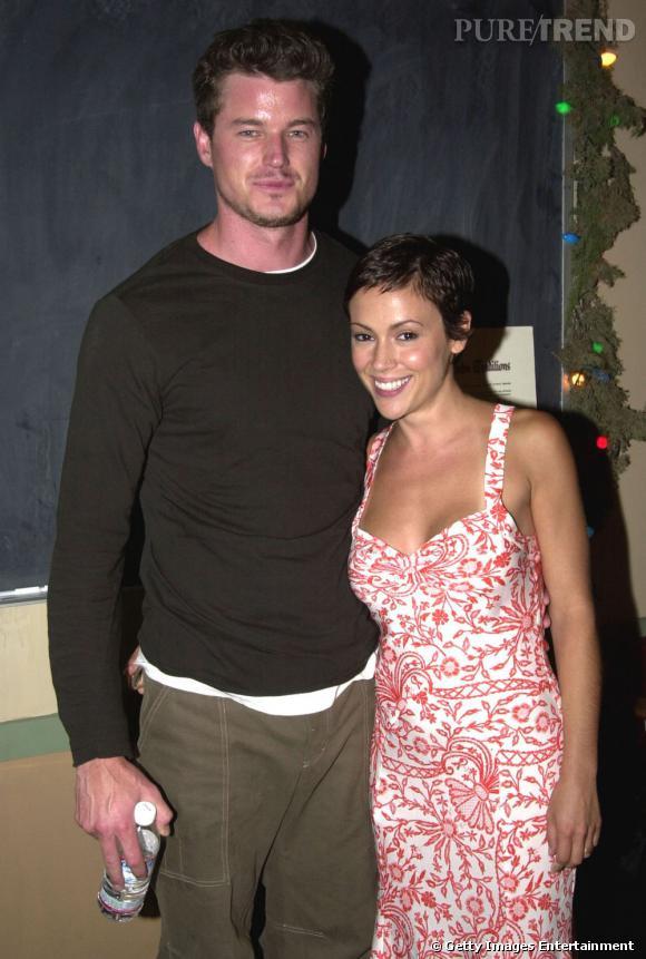 Eric Dane et Alyssa Milano... Monsieur aime bien les bimbos.
