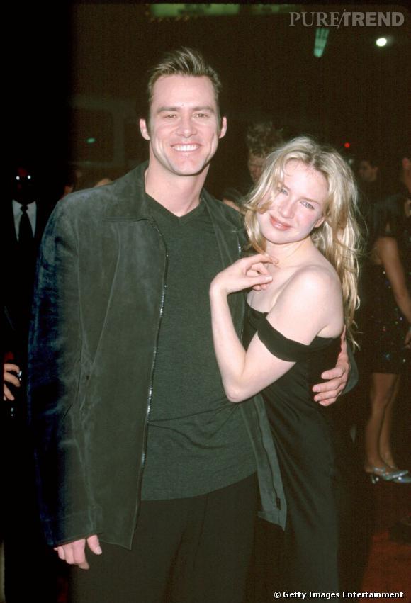 Jim Carrey et Renée Zellweger, le couple glamour des années 90.