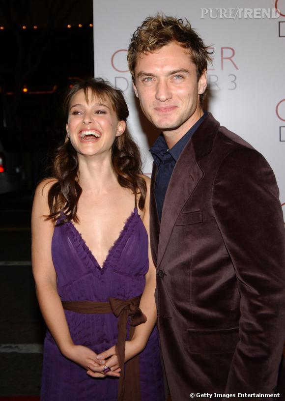 Natalie Portman et Jude Law : avouons que c'est un couple glamour... Mais complétement passé à la trappe !