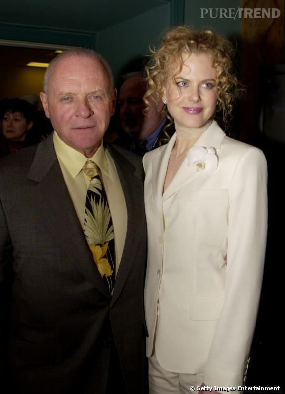 Anthony Hopkins et Nicole Kidman. On a toujours su qu'Hannibal Leckter aimait la viande fraiche.