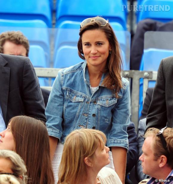 Pippa Middleton au match d'Andy Murray aux championnats AEGON à Londres.
