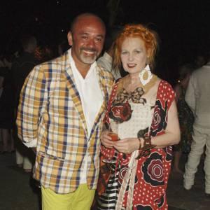 Christian Louboutin et la déjantée Vivienne Westwood.
