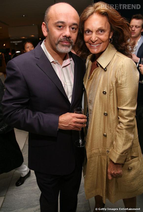 Christian Louboutin et Diane von Furstenberg.