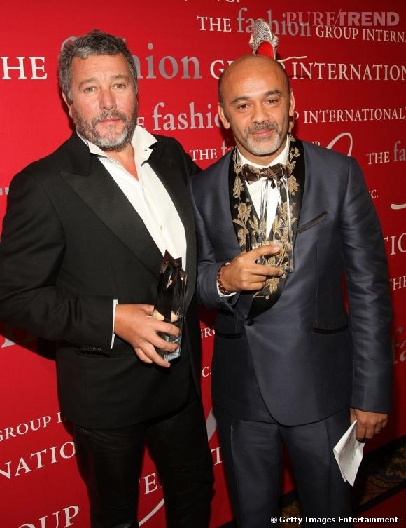 Christian Louboutin et Philippe Starck.