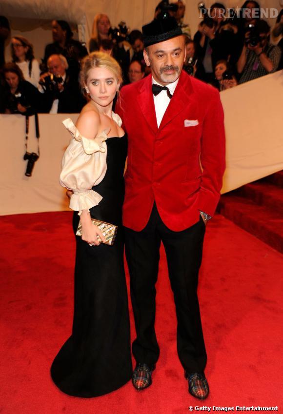 Christian Louboutin et Ashley Olsen.