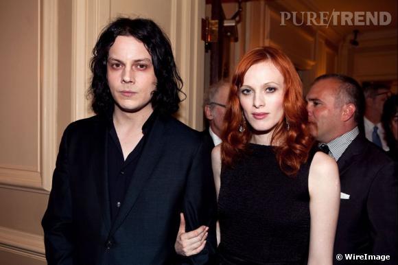 Karen Elson et Jack White, futur ex. Et ils assument.