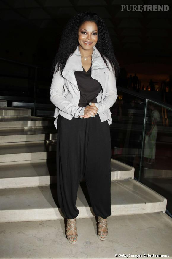 """Janet Jackson au gala """"Liasions au Louvre II"""" à Paris."""