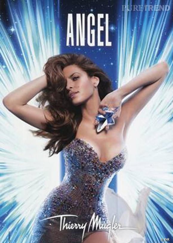 """Eva Mendes pour """"Angel""""."""