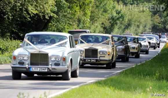 Lorsque l'on est un symbole de l'Angleterre, on fait les choses en grand, et en Rolce Royce.