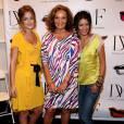 Apparue dans plusieurs épisodes de la série, Diane von Furstenberg n'hésite pas à prendre la pose avec Leighton Meester et Jessica Szohr.