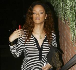 Rihanna, shopping by night