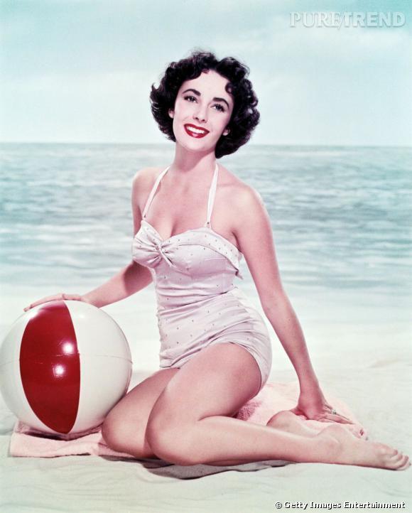 Elizabeth Taylor, une superstar digne d'une pin up des 40's