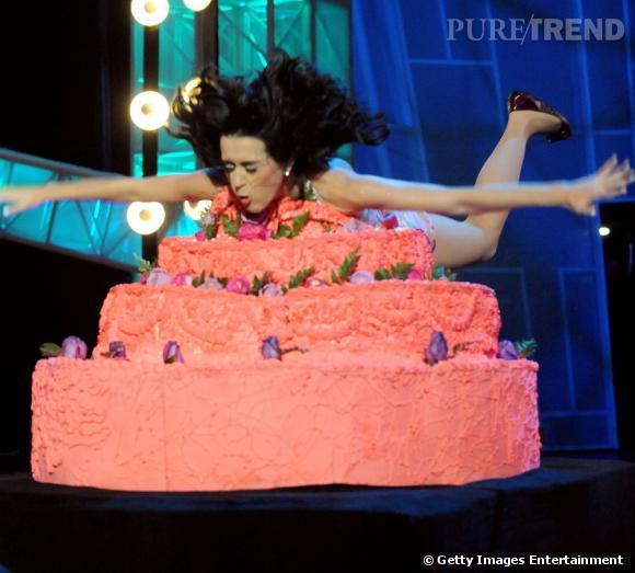 Katy Perry est trop gourmande.