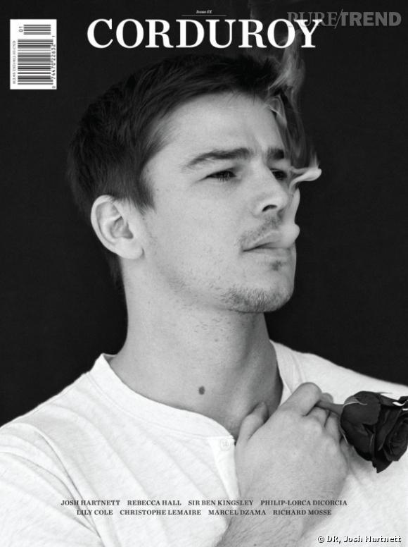 Josh Hartnett fait la couv du numéro 9 du magazine américain Corduroy.