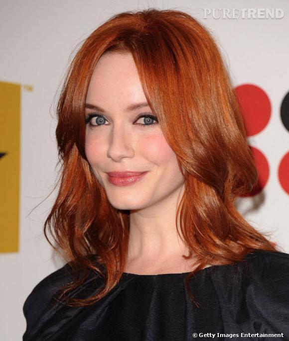 cheveux roux orange