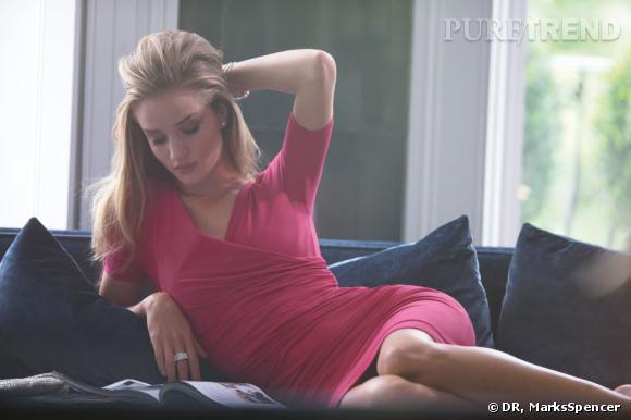 Rosie Huntington-Whiteley pour Marks & Spencer.