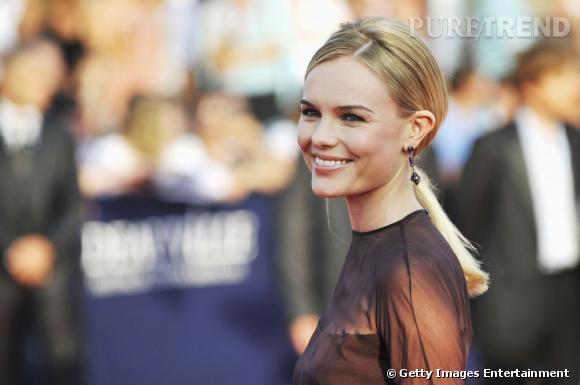 Kate Bosworth lors de la cérémonie d'ouverture du Festival du Film Américain de Deauville.