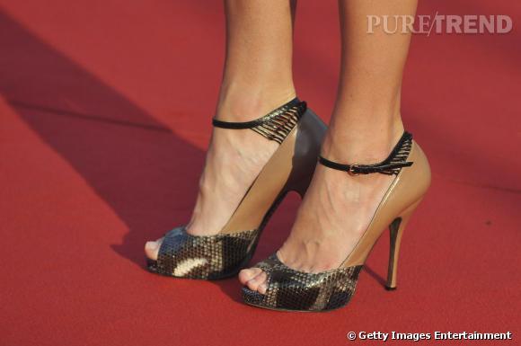 Les sandales Valentino de Kate.