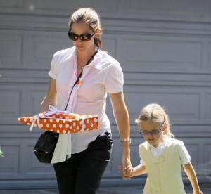 Jennifer Garner enceinte : la petite chemise blanche