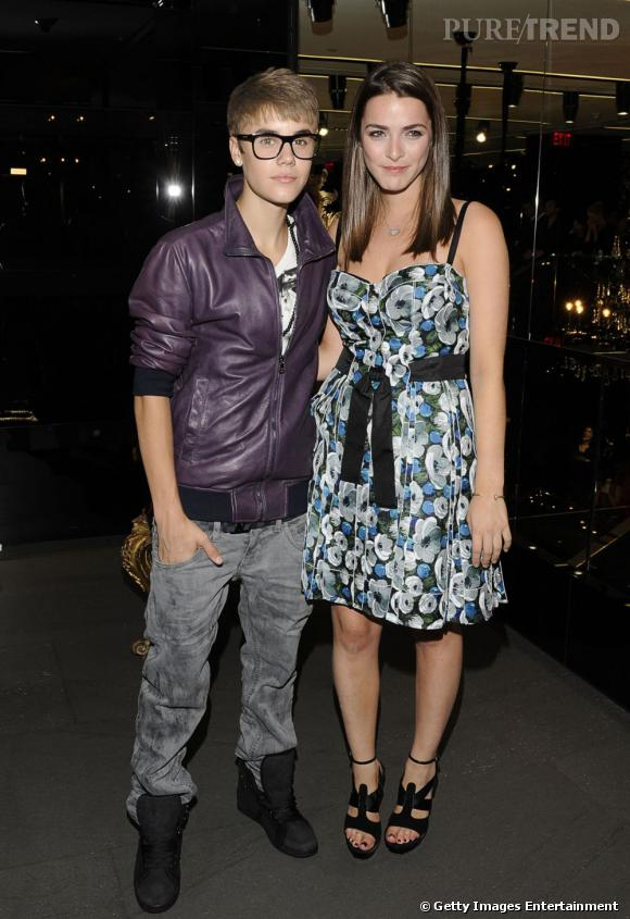 Justin Bieber et Bee Shaffer.