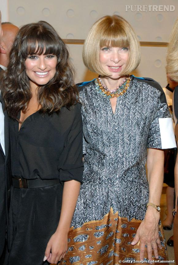 Lea Michele et Anna Wintour