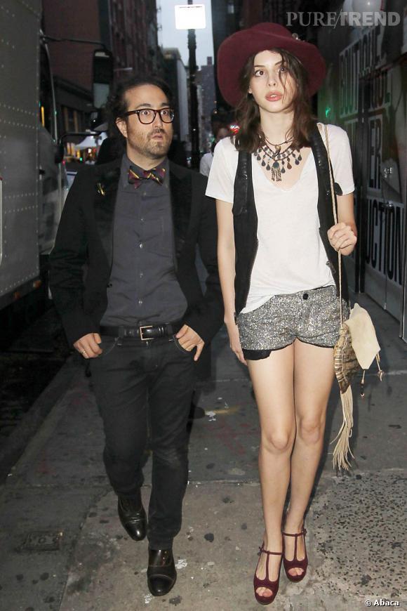 Sean Lennon et Charlotte Kemp Muhl.