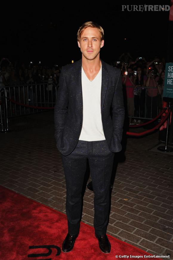 """Ryan Gosling lors de la première de """"Drive"""" au Festival de Toronto."""