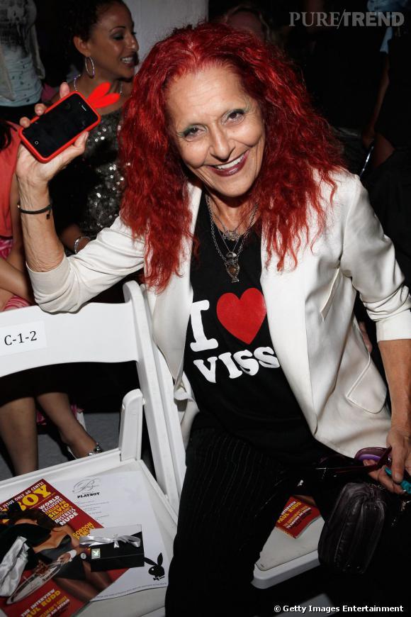 La joyeuse styliste Patricia Field au show de The Blonds.
