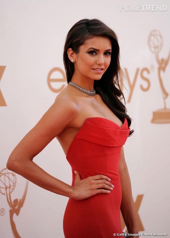 Nina Dobrev aux 63ème Emmy Awards 2011 à Los Angeles.