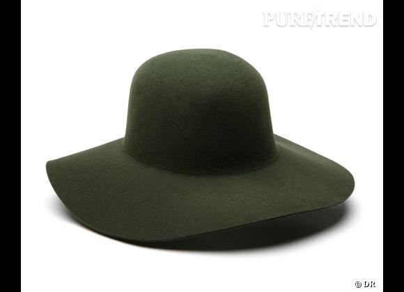 50 chapeaux pour cet Automne-Hiver 2011/2012 !     Capeline Gérard Darel, 75 €.