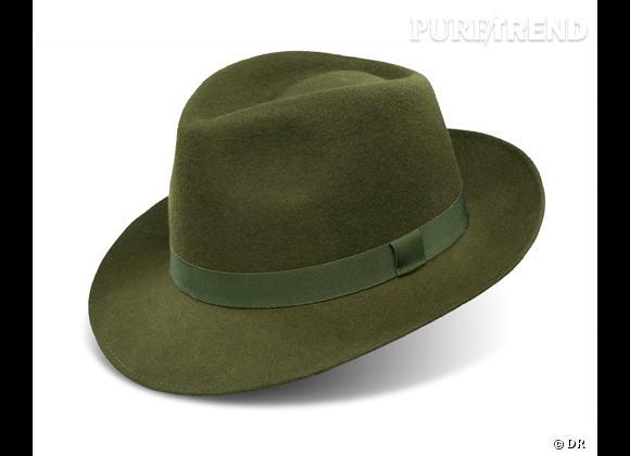 50 chapeaux pour cet Automne-Hiver 2011/2012 !     Chapeau style borsalino Kenzo, 135 €.