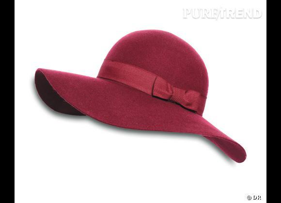 50 chapeaux pour cet Automne-Hiver 2011/2012 !     Capeline en feutre Bel Air, 125 €.   Aux Galeries Lafyette.