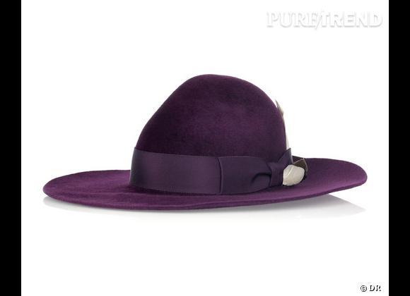 """50 chapeaux pour cet Automne-Hiver 2011/2012 !     Chapeau """"Noel Stewart Millinery wool-felt fedora"""" Roksanda Ilincic, 753,77 €.   Sur  www.net-a-porter.com"""