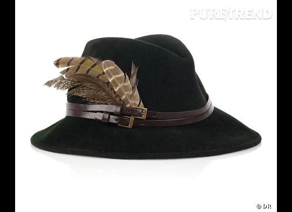 """50 chapeaux pour cet Automne-Hiver 2011/2012 !     Chapeau """"Lauren Fedora"""" Eugenia Kim, 385 €.   Sur  www.net-a-porter.com"""