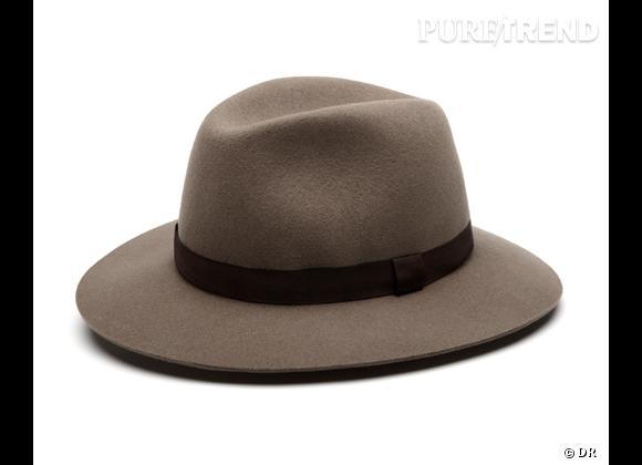 50 chapeaux pour cet Automne-Hiver 2011/2012 !     Chapeau style borsalino Gérard Darel, 75 €.